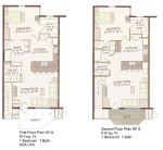 Floor Plans of Northland Bldg Flats